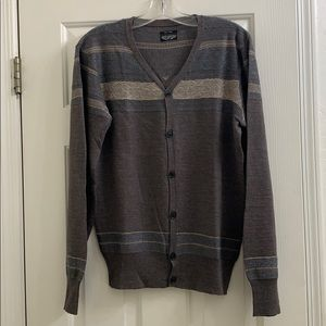 All Saints wool patterned cardigan, sz small
